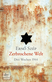 Cover Zerbrochene Welt - Drei Wochen 1944