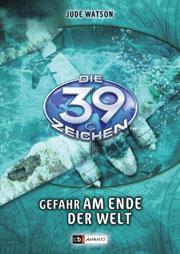 Cover Die 39 Zeichen - Gefahr am Ende der Welt