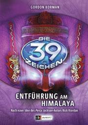 Cover Die 39 Zeichen - Entführung am Himalaya