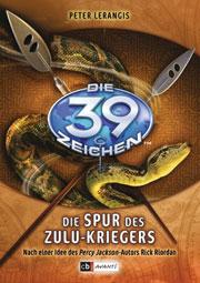 Cover Die 39 Zeichen - Die Spur des Zulu-Kriegers