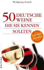 Cover 50 deutsche Weine, die sie kennen sollten