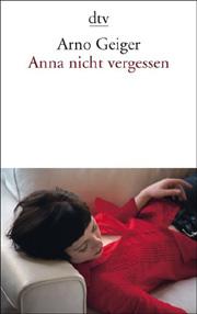 Cover Anna nicht vergessen