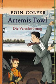 Cover Artemis Fowl - Die Verschwörung
