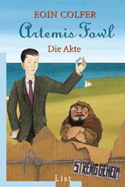 Cover Artemis Fowl - Die Akte