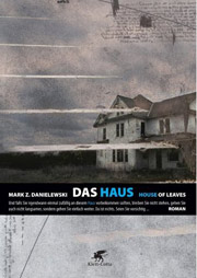 Cover Das Haus. House of Leaves