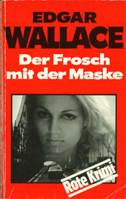 Cover Edgar Wallace: Der Frosch mit der Maske