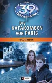 Cover Die 39 Zeichen - Die Katakomben von Paris