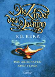 Cover Die Kinder des Dschinn - Das Akhenaten-Abenteuer