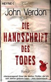 Cover Die Handschrift des Todes