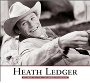 Cover Heath Ledger - Eine Hommage in Fotographien