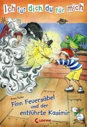 Cover Finn Feuersäbel und der entführte Kasimir