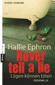 Cover Never tell a lie - Lügen können töten
