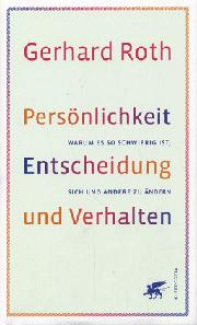 Cover Persönlichkeit, Entscheidung und Verhalten