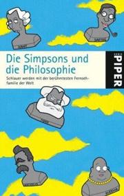 Cover Die Simpsons und die Philosophie